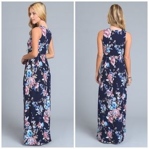 Dresses - Clarissa Floral Maxi Dress